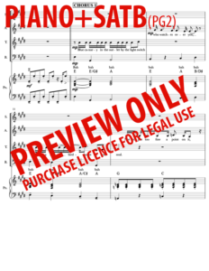 SATB + Piano (pg2)